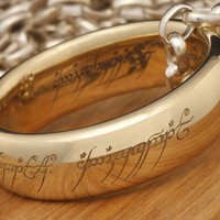 Lord of the Rings: The One Ring by Weta - Size V½, Solid Gold image
