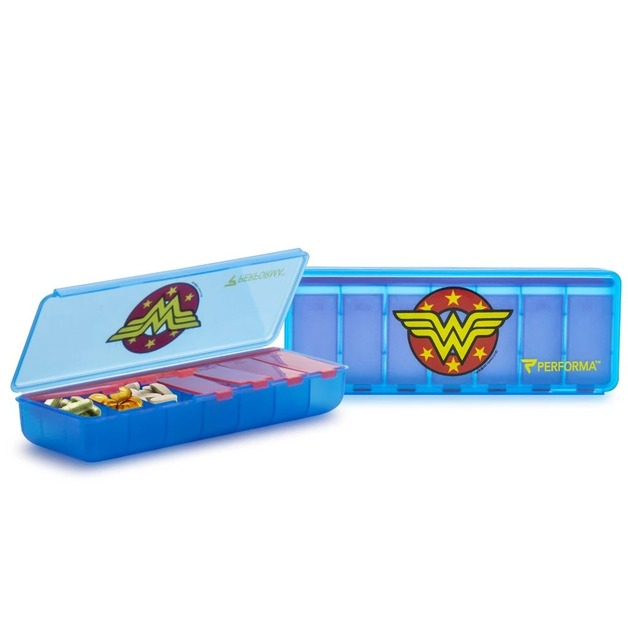 Performa: DC Comics 7-Day Pill Container - Wonder Woman