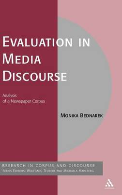 Evaluation in Media Discourse by Monika Bednarek image
