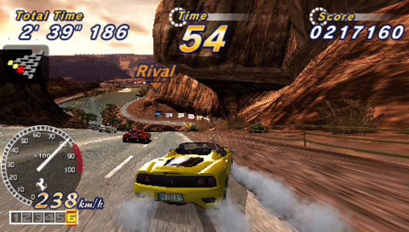 OutRun 2006: Coast 2 Coast for PSP image