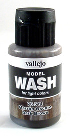 Vallejo 514 Dark Brown Wash 35ml