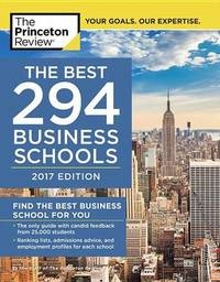 Best 295 Business Schools by Princeton Review