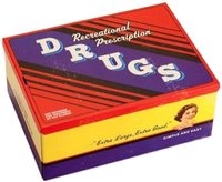 Blue Q Cigar Box - Recreational Drugs