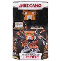 Meccano Micronoid Code Programmable Robot - MAGNA