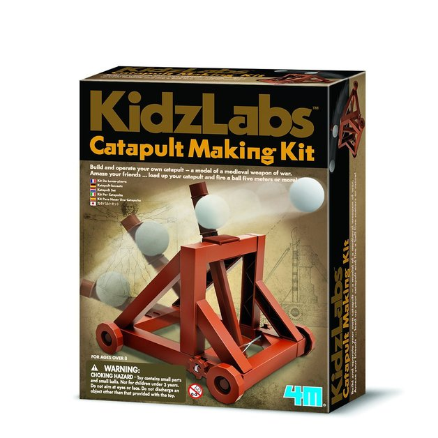 4M: Kidz Labs - Catapult Making Kit