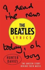 The Beatles Lyrics by Hunter Davies image