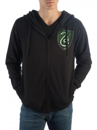 Harry Potter: Slytherin - Zip Up Hoodie (Medium)