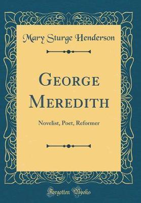 George Meredith by M Sturge Henderson image
