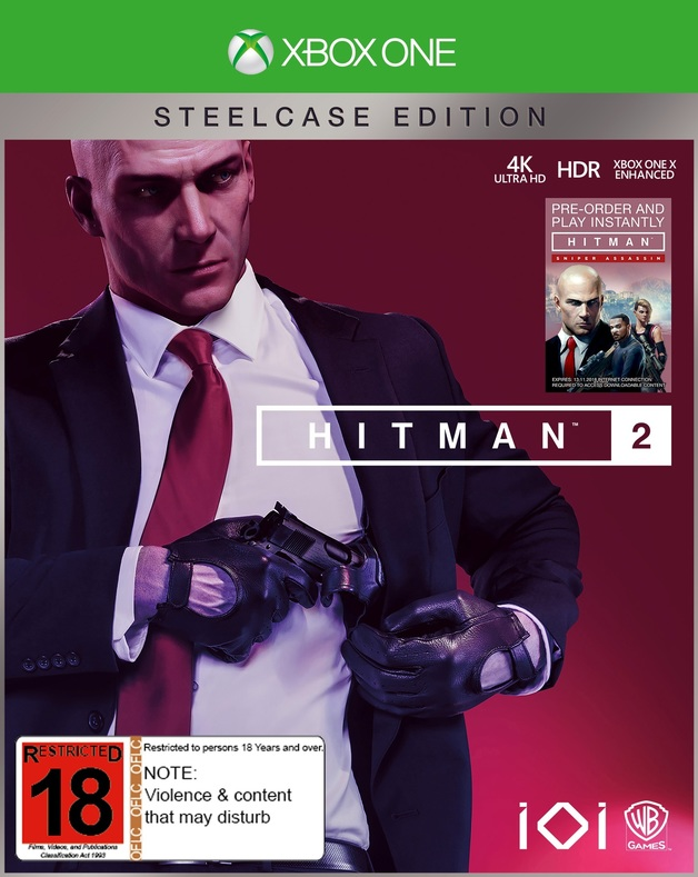 Hitman 2 Steelbook Edition for Xbox One