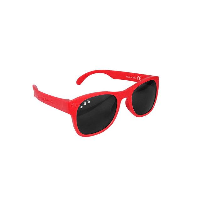 Ro.Sham.Bo: Toddler Shades - Red McFly (Black Standard Lens)