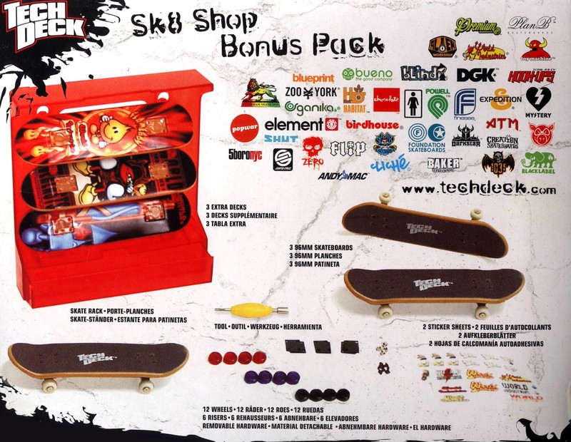 Tech Deck - Skateshop Bonus Pack image