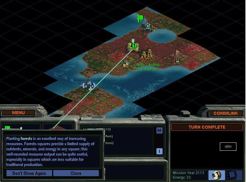 Sid Meier's Alpha Centauri (includes Crossfire expansion pack!) screenshot
