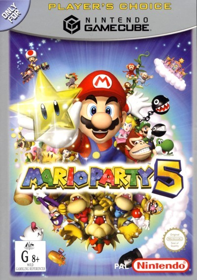 Mario Party 5 for GameCube