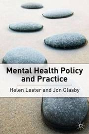 Mental Health: Policy and Practice by Helen Lester image