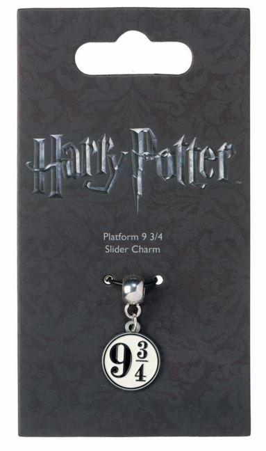 Harry Potter Charm - Platform 9 3/4 (silver plated) image