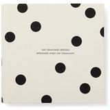 Kate Spade: Large Photo Album - Black Dots