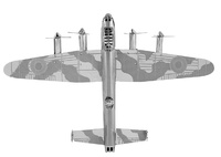 Metal Earth: Avro Lancaster Bomber - Model Kit image