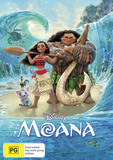 Moana on DVD