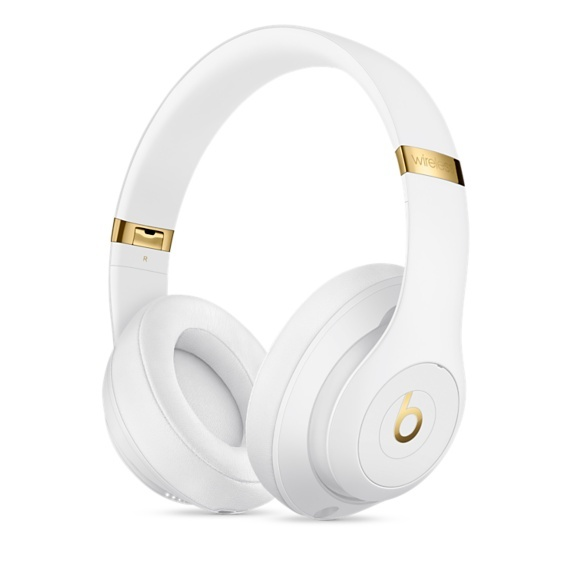 Beats: Studio3 Wireless Over-Ear Headphones - with Pure Active Noise Cancellation -White