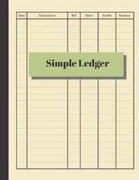 Simple Ledger by Accountant Life Publishing image