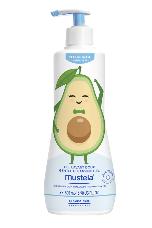 Mustela: Ltd Edi Gentle Ceanse Gel - 500ml (Avocado)