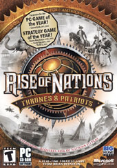 Rise of Nations: Thrones and Patriots for PC Games