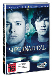 Supernatural - The Complete 2nd Season (6 Disc Set) on DVD
