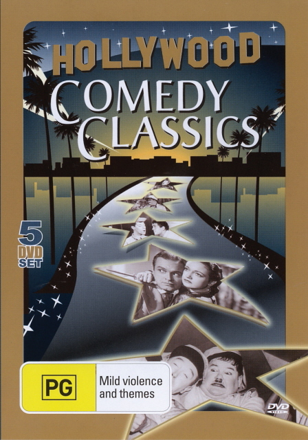 Hollywood Comedy Classics (5 Disc Set)) on DVD