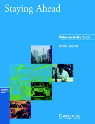 Staying Ahead Video activity book by Lynda Lawson