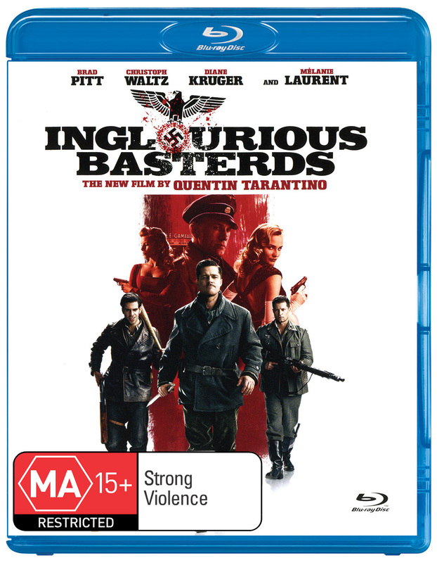 Inglourious Basterds on Blu-ray