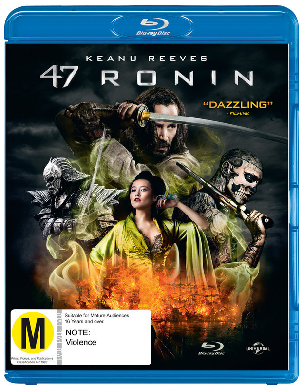 47 Ronin on Blu-ray