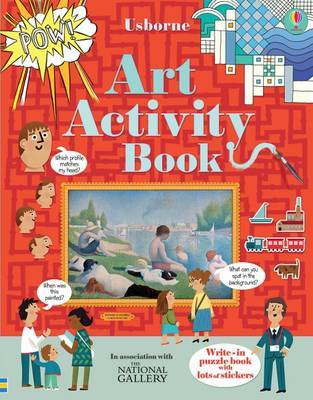 Art Activity Book by Rosie Dickins image