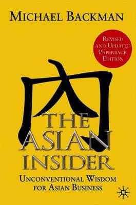 The Asian Insider by M Backman