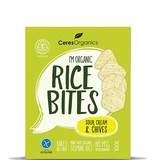 Ceres Organics Rice Bites (Sour Cream & Chives, 100g)