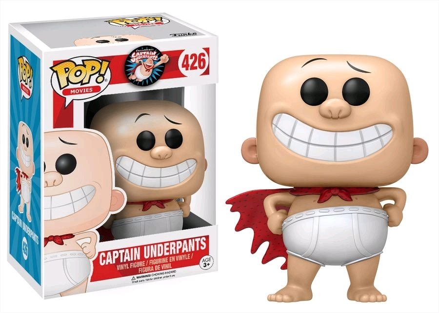Captain Underpants - Pop! Vinyl Figure image