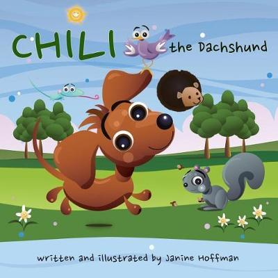 Chili the Dachshund by Janine Hoffman
