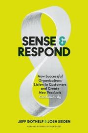 Sense and Respond by Jeff Gothelf