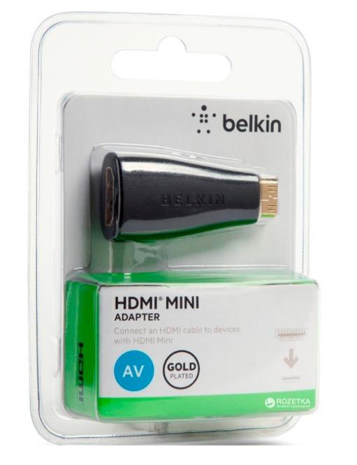 Belkin: Essential Series - Mini HDMI Adopter