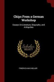 Chips from a German Workshop by Friedrich Max Muller image