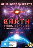 Earth Final Conflict Ultimate Complete Collection on DVD