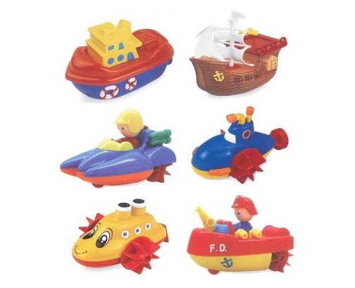 Navystar: Wind Up Boats - (Assorted Designs) image