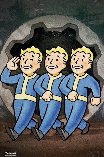 Fallout 76 Maxi Poster - Vault Boys (900)