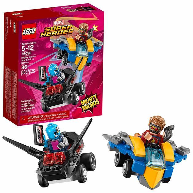 LEGO Super Heroes: Mighty Micros - Star-Lord vs. Nebula (76090)