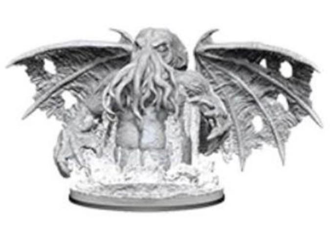 Pathfinder Deep Cuts: Unpainted Miniatures - Star-Spawn of Cthulhu image