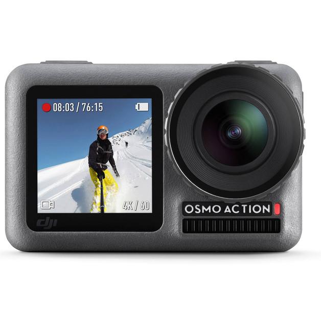 DJI Osmo Action Camera ,4K/60fps, 1080/240fps - Support 4K 30fps HDR Video