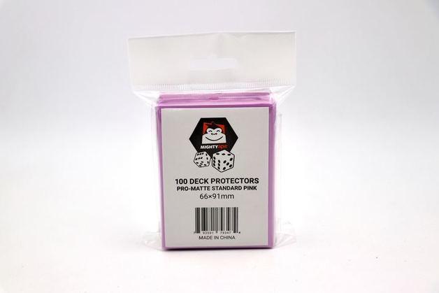 Mighty Ape Deck Protectors Pro-Matte Standard Pink (100)