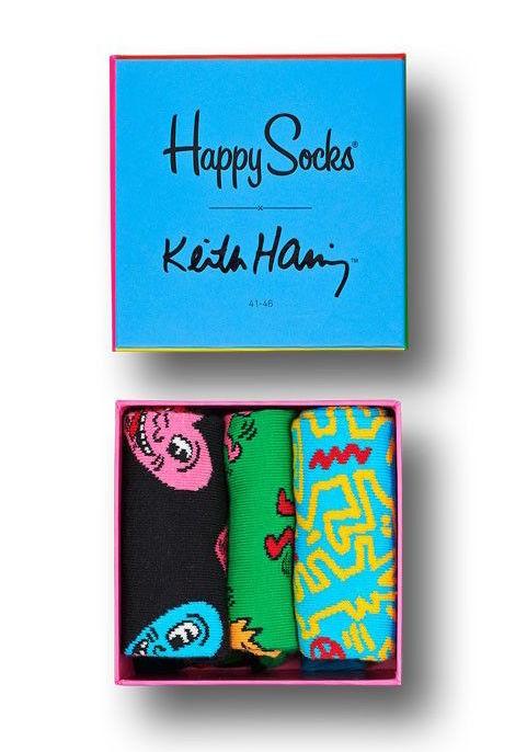 Happy Socks: Keith Haring Gift Box M-L (41-46)