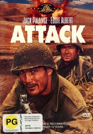 Attack on DVD image