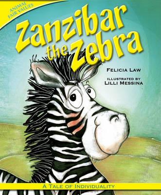 Zanzibar the Zebra by Felicia Law image