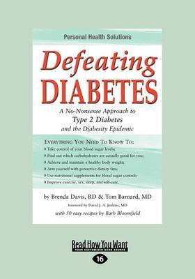 Defeating Diabetes by Barnard Tom